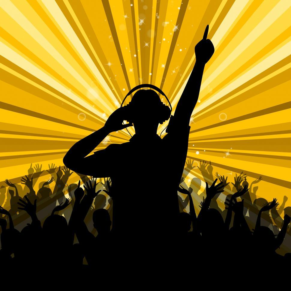 Download Free Stock HD Photo of Dj Disco Shows Dancing Discotheque And Party Online