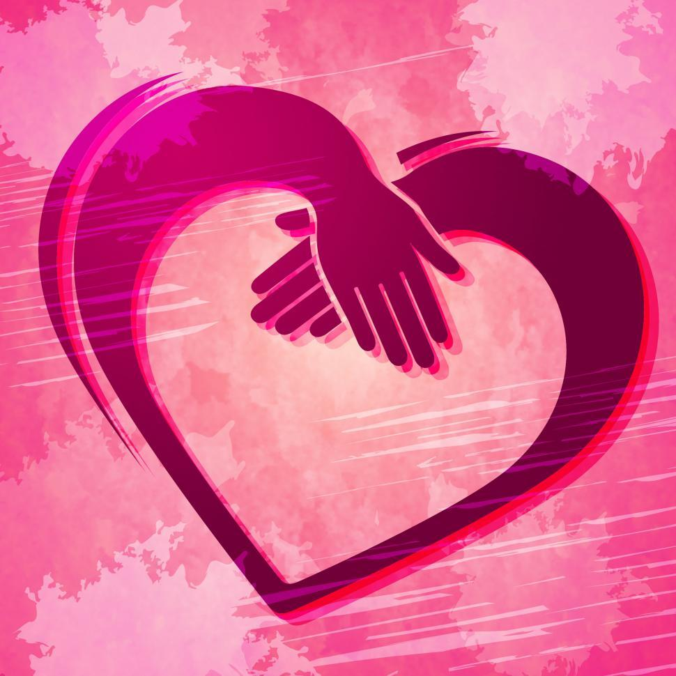 Download Free Stock HD Photo of Holding Hands Indicates Valentine Day And Friends Online