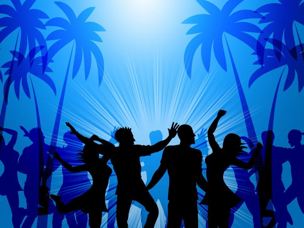 Download Free Stock Photo of Tropical Island Represents Disco Dancing And Atoll