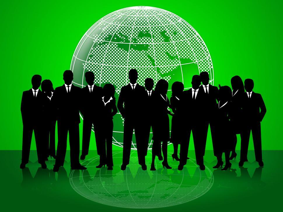 Download Free Stock Photo of Business People Indicates Corporate Office And Together