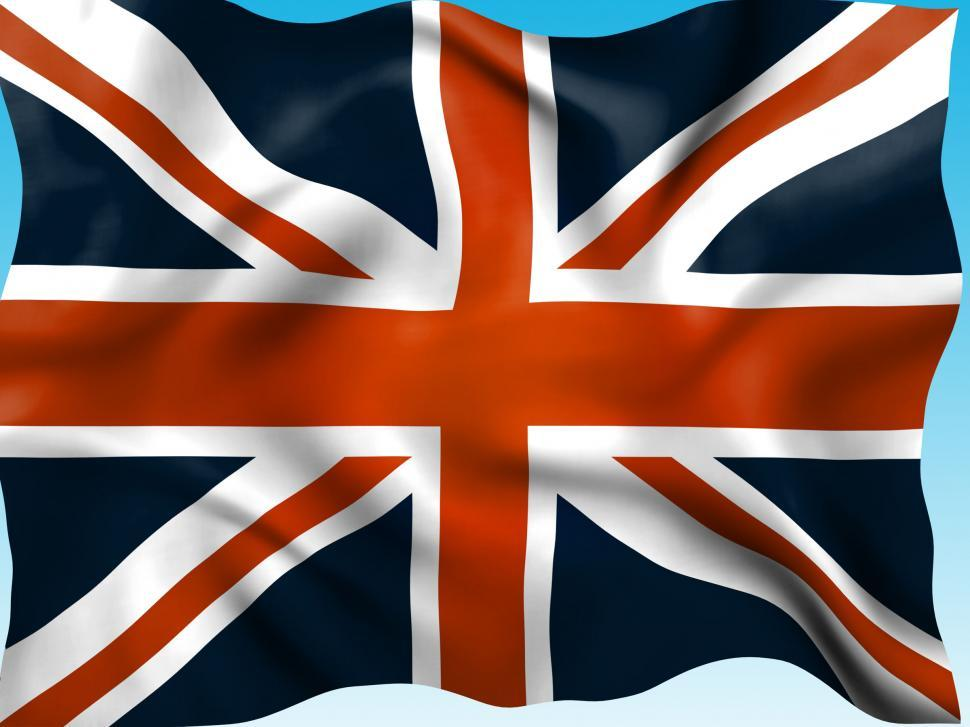 Download Free Stock Photo of Union Jack Means British Flag And Country