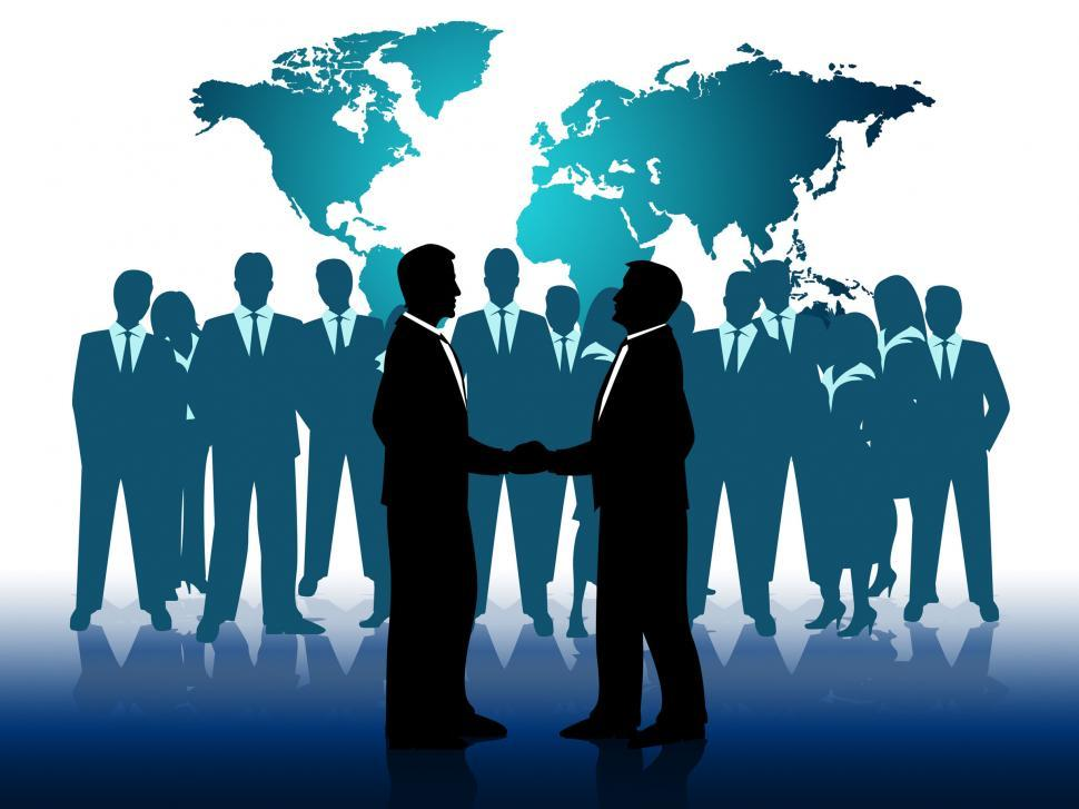 Download Free Stock Photo of Business People Indicates Work Together And Businesspeople
