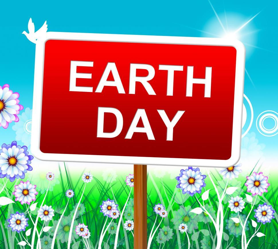 Download Free Stock HD Photo of Earth Day Indicates Eco Friendly And Conservation Online