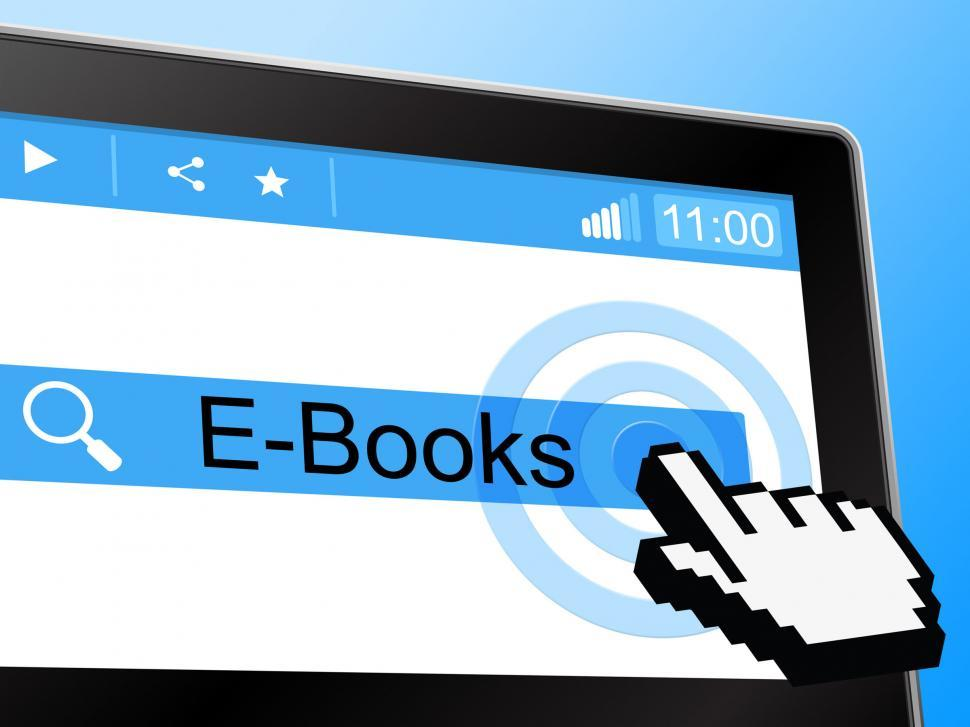 Download Free Stock HD Photo of E Books Shows World Wide Web And Online Online