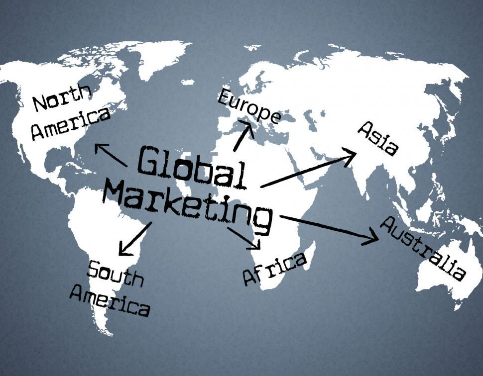 Download Free Stock HD Photo of Global Marketing Indicates Planet Globalise And Globalisation Online
