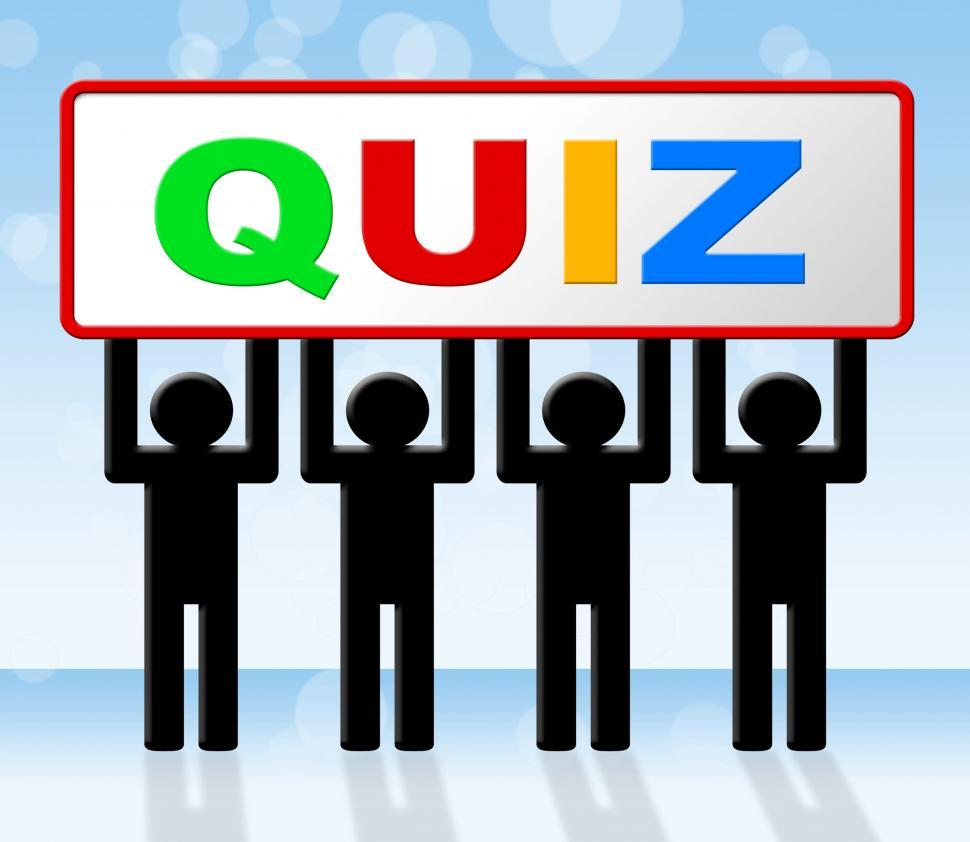Download Free Stock HD Photo of Exam Quiz Means Questions And Answers And Examination Online