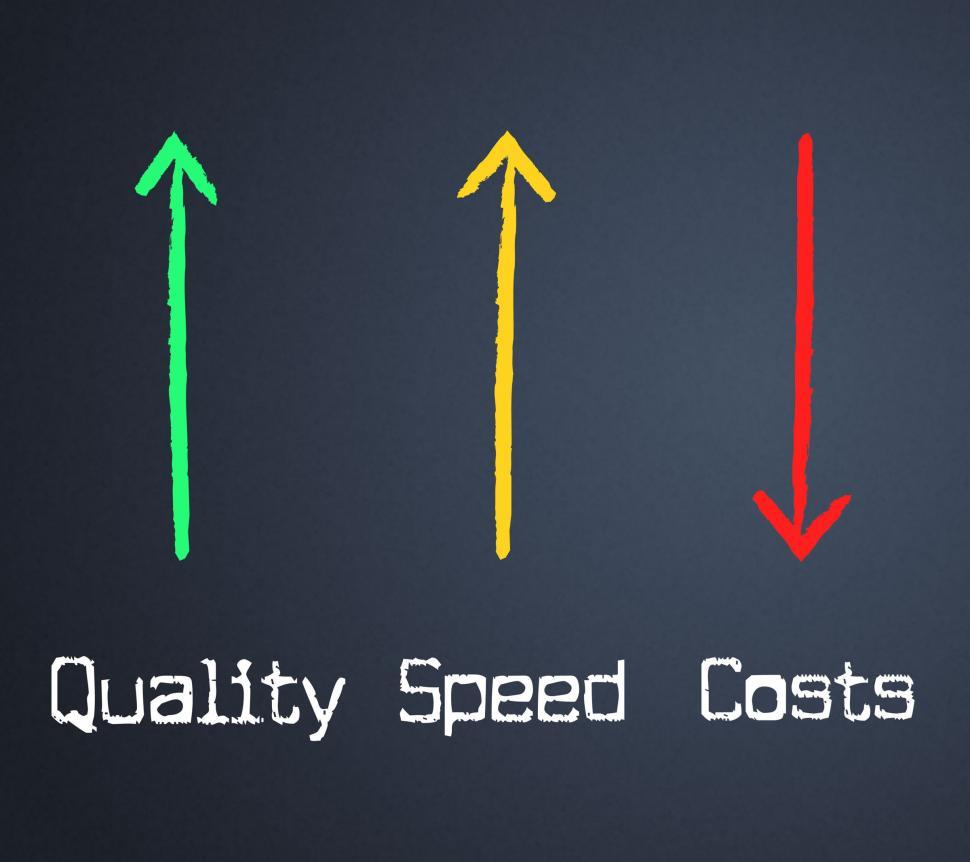 Download Free Stock HD Photo of Costs Quality Represents Expenses Certified And Bills Online