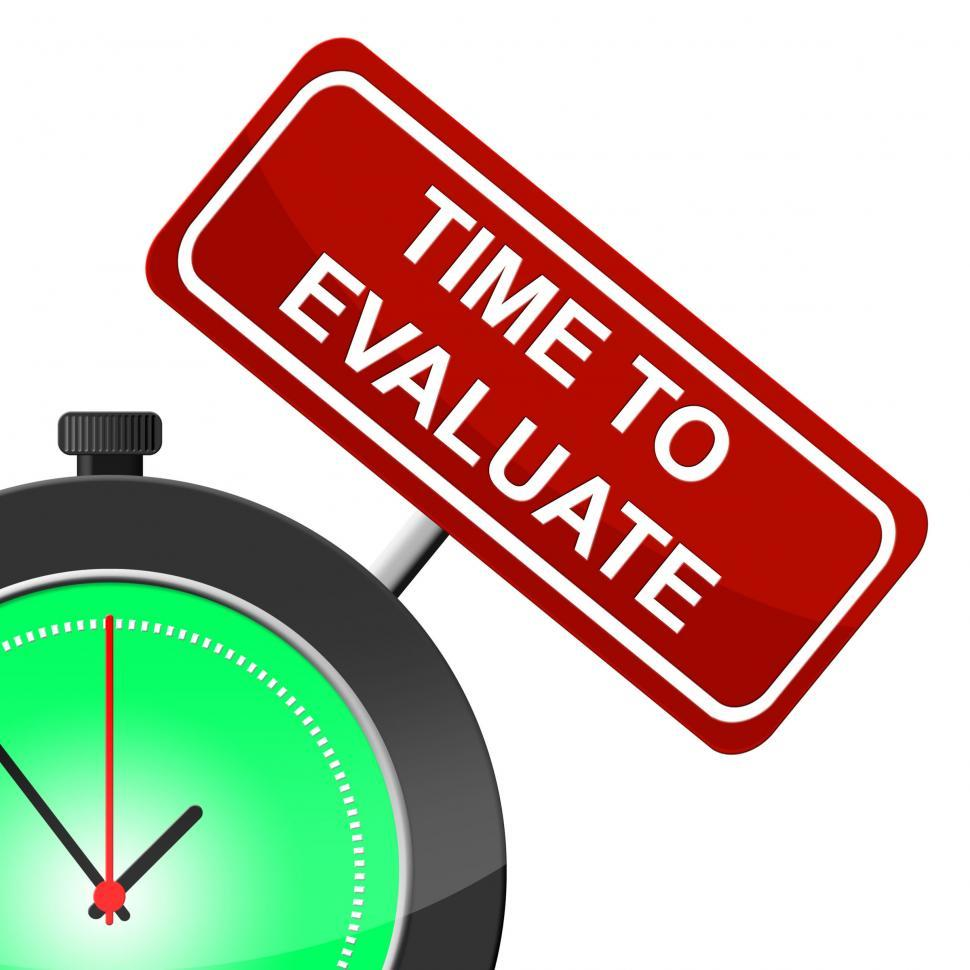Download Free Stock HD Photo of Time To Evaluate Indicates Interpret Evaluating And Calculate Online