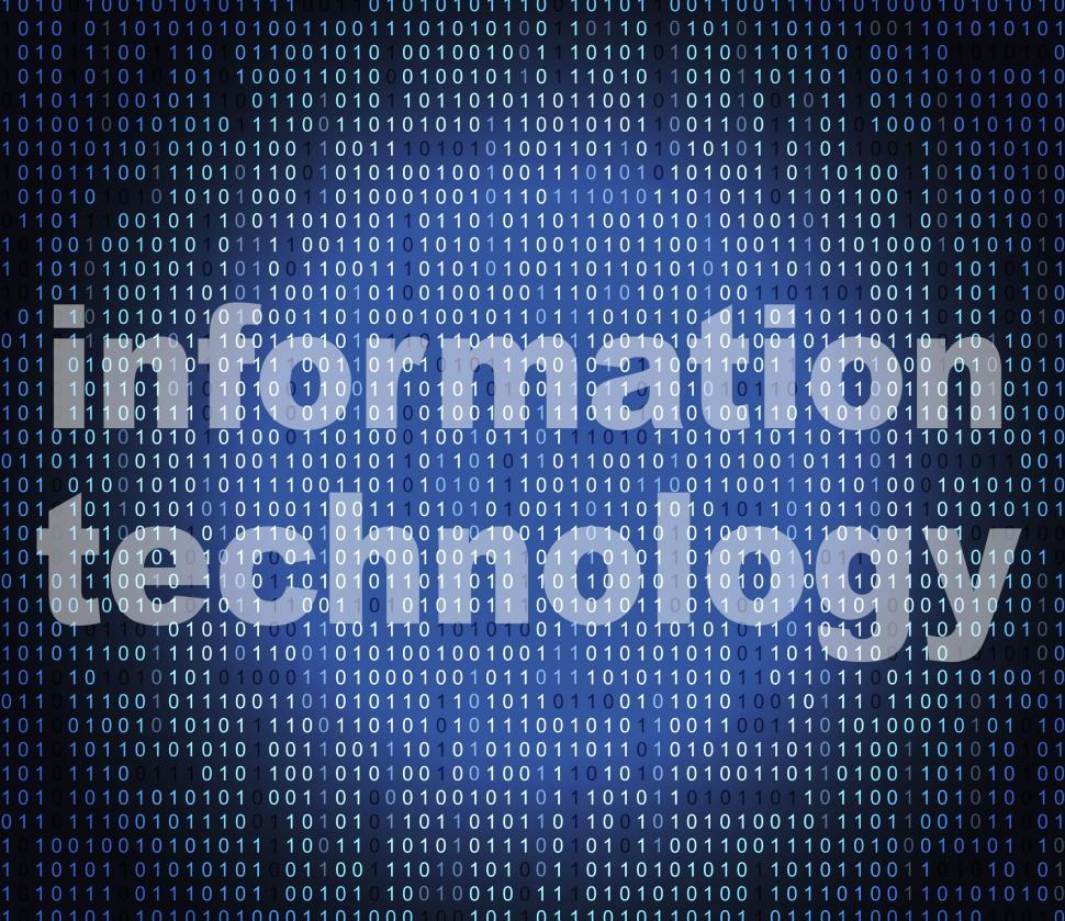 Download Free Stock HD Photo of Information Technology Shows Assistance Advisor And Support Online