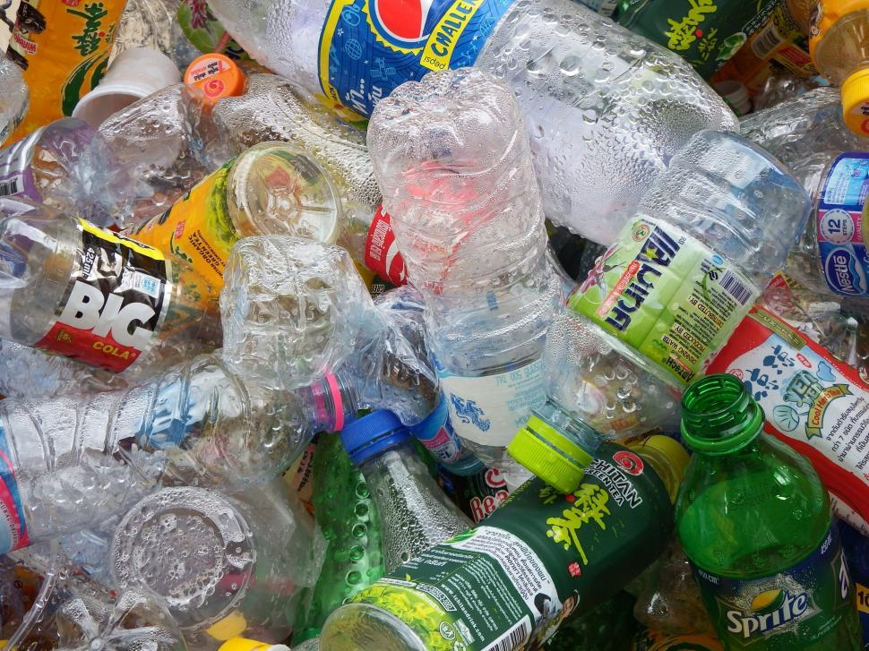 Download Free Stock HD Photo of Recycled Plastic Bottles  Online