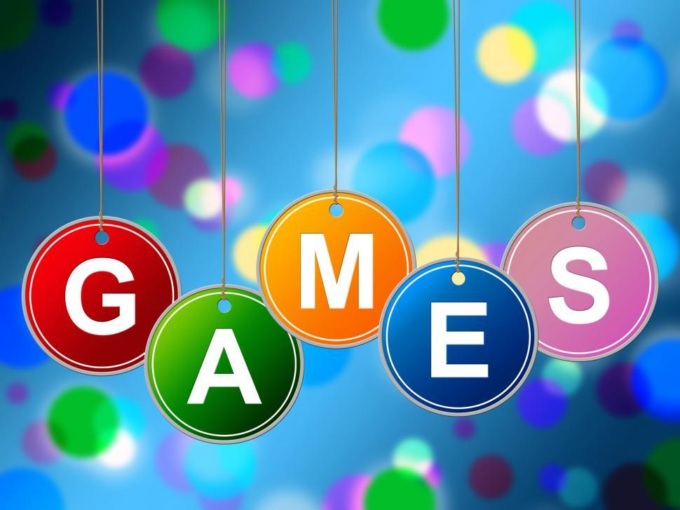 Download Free Stock Photo of Games Play Represents Recreational Gaming And Entertainment