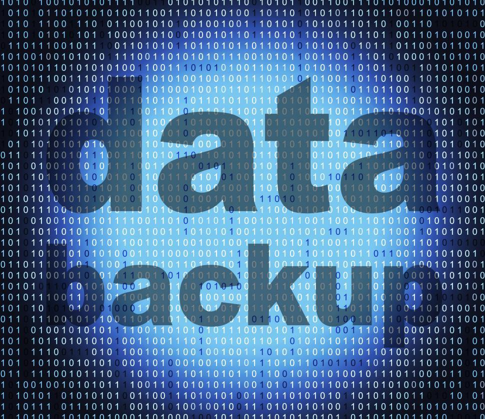 Download Free Stock HD Photo of Backup Data Means File Transfer And Archives Online