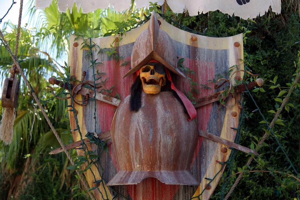 Download Free Stock HD Photo of pirate skull Online