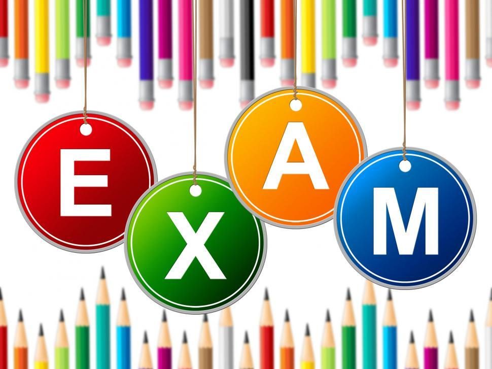 Download Free Stock Photo of Exam Kids Means Youth Exams And Test