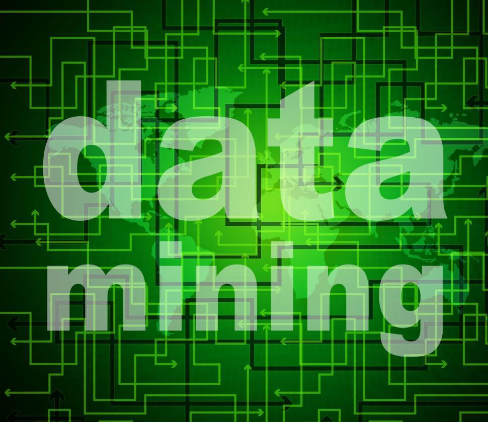 Download Free Stock Photo of Data Mining Indicates Research Study And Analyse
