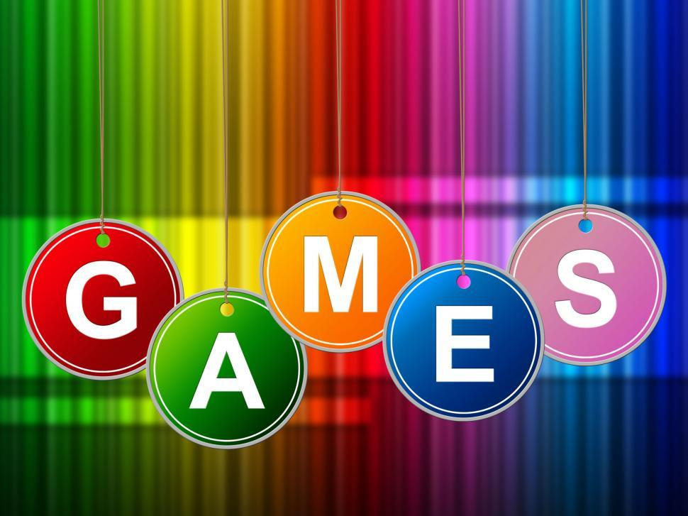Download Free Stock Photo of Games Play Means Gamer Leisure And Entertainment