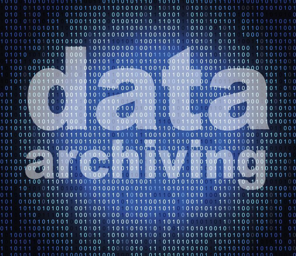 Download Free Stock HD Photo of Data Archiving Means Catalog Catalogue And Bytes Online