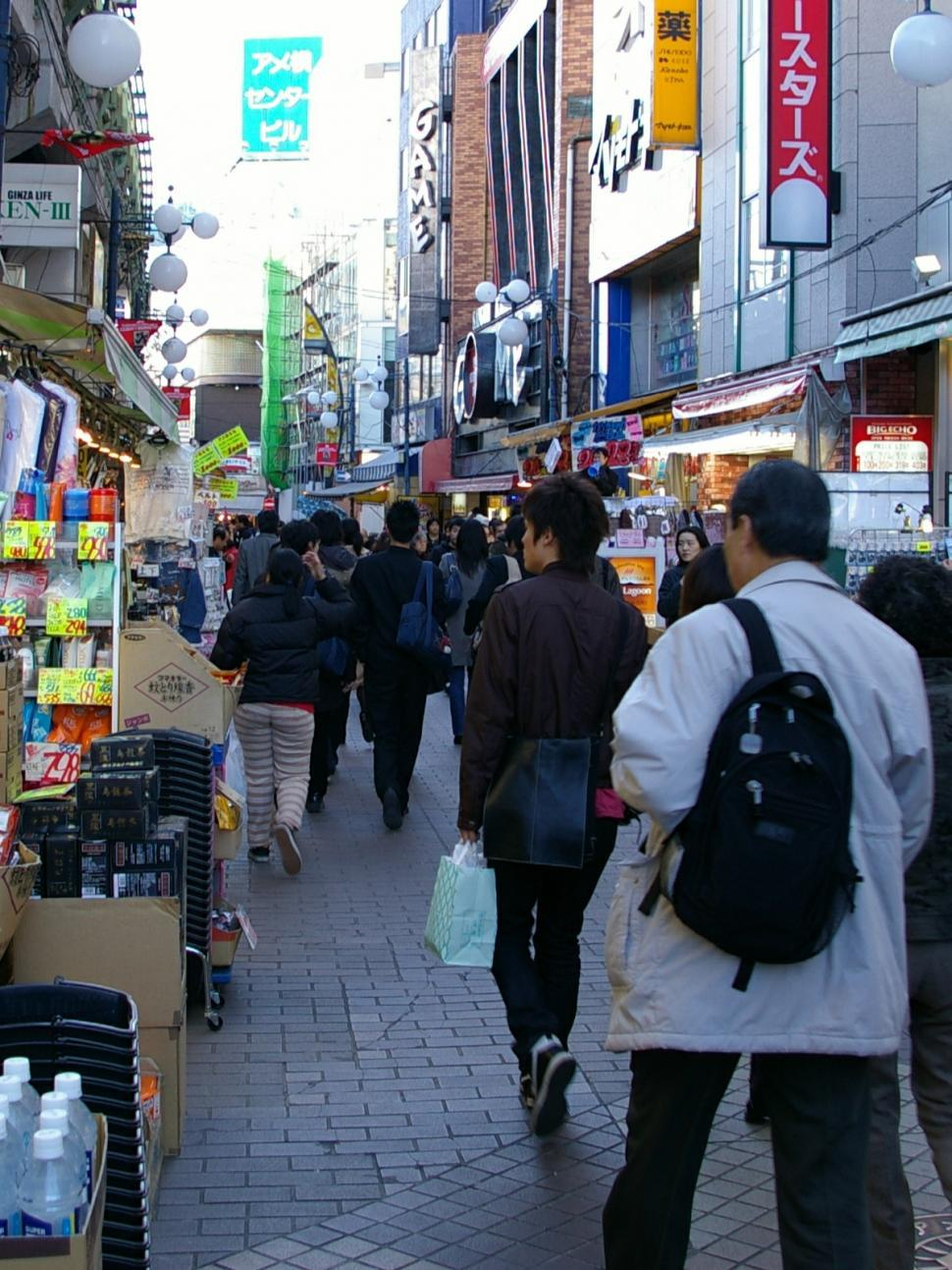 Download Free Stock Photo of Japan Market