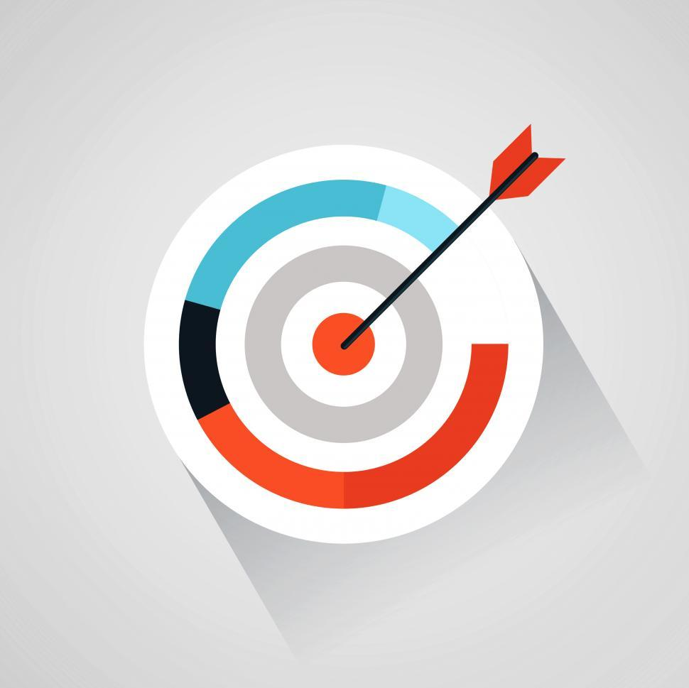 Download Free Stock HD Photo of Targeting your audience - Arrow and target Online