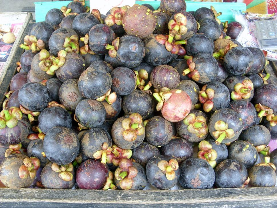 Download Free Stock Photo of Mangosteen fruit