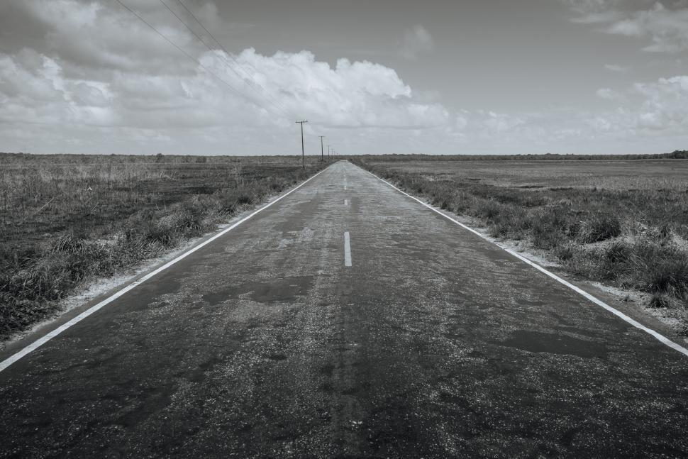 Download Free Stock Photo of  road,  asphalt,  way,  highway,  landscape,  sky,  transportation,  travel,  horizon,  scenic,  drive,  speed,  clouds,  transport,  countryside,  cloud,  rural,  country,  driveway,  grass,  car,  traffic,  scenery,  path,  street,  direction