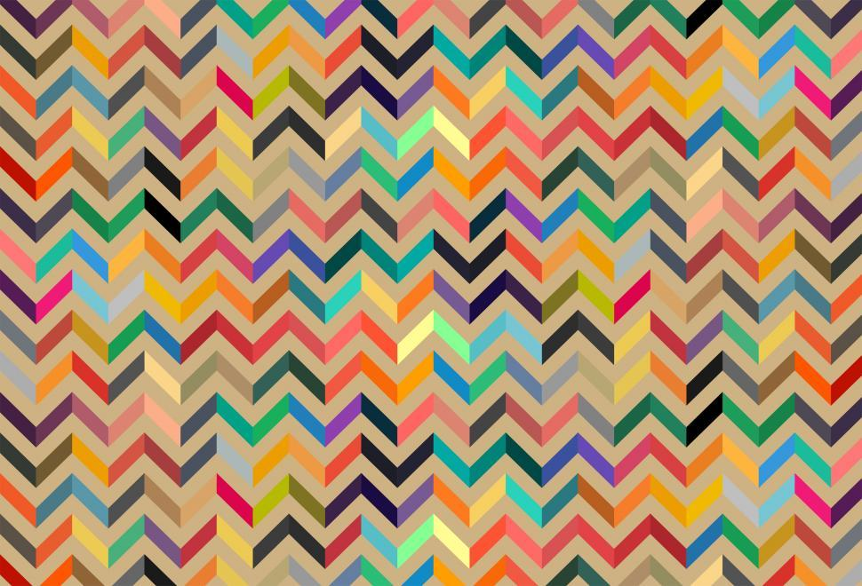 Download Free Stock HD Photo of Colorful seamless pattern background - Flat colors palette Online