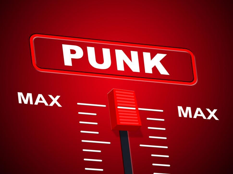 Download Free Stock HD Photo of Punk Music Shows Sound Track And Amplifier Online