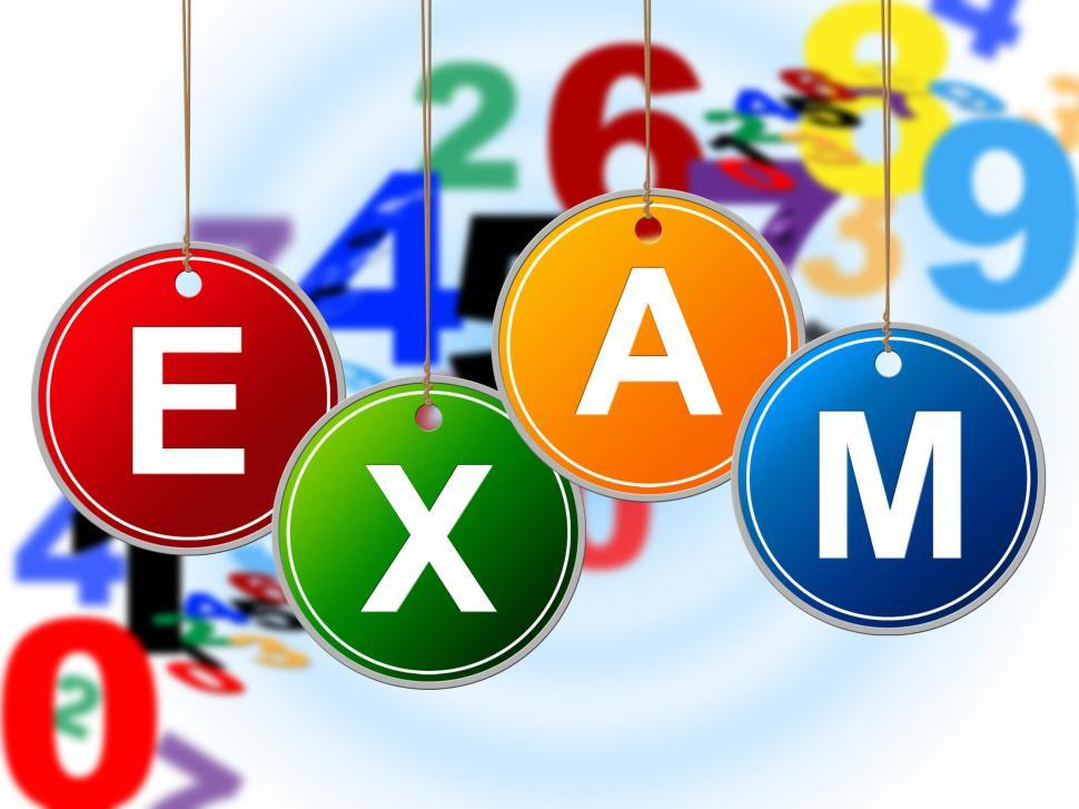 Download Free Stock HD Photo of Kids Exam Shows Examinations Childhood And Children Online