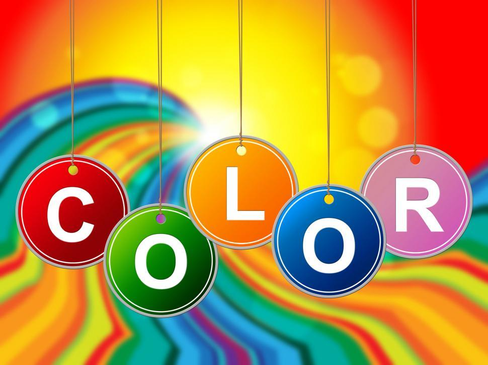 Download Free Stock Photo of Colorful Color Means Paint Colors And Colour