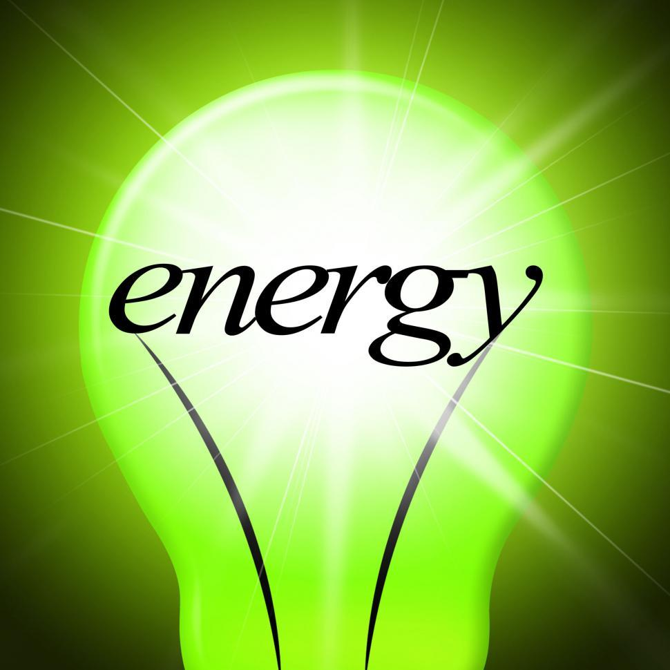 Download Free Stock HD Photo of Energy Lightbulb Shows Earth Day And Eco-Friendly Online