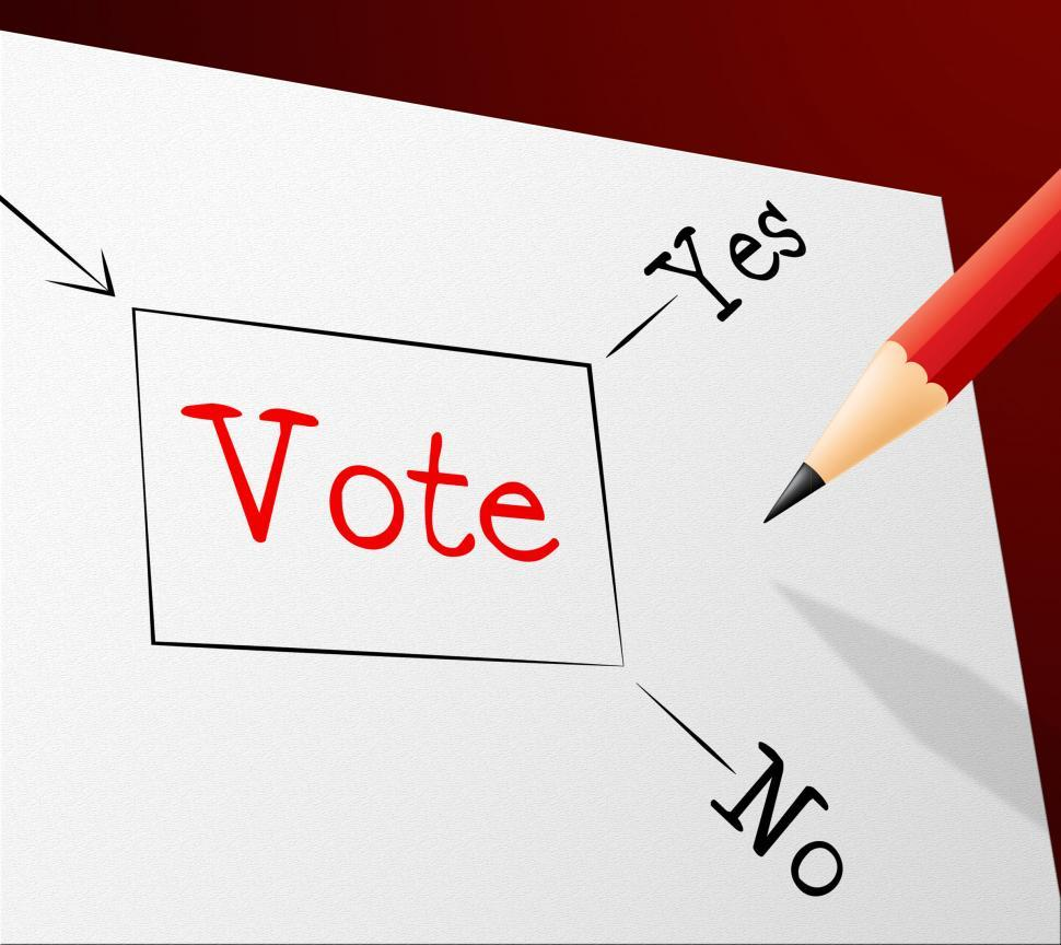 Download Free Stock Photo of Choice Vote Indicates Election Confusion And Path
