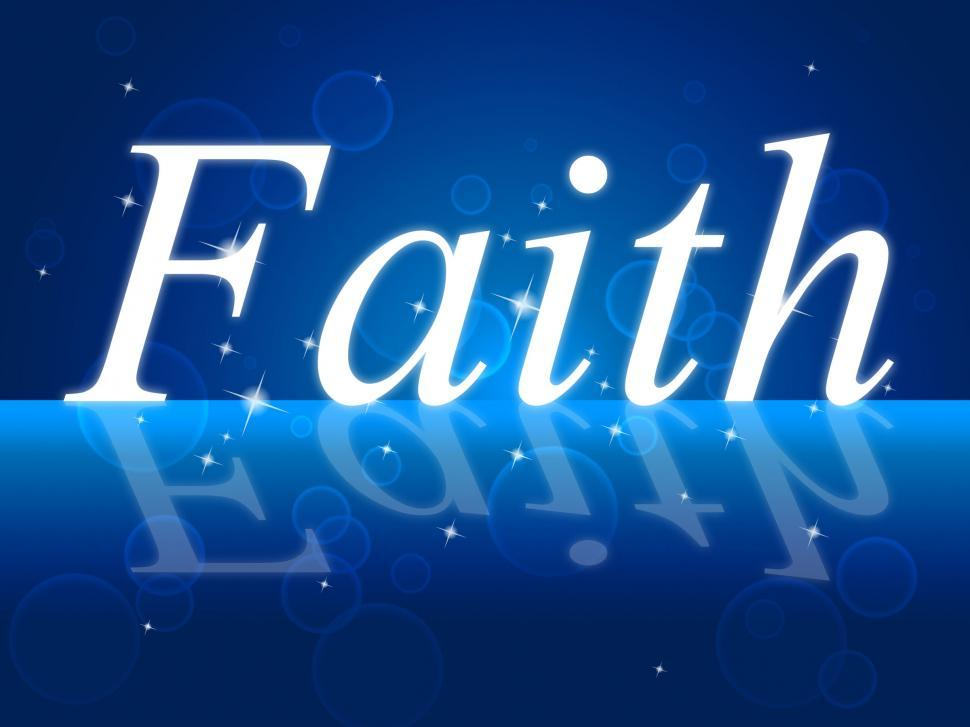 Download Free Stock HD Photo of Trust Faith Indicates Believe In And Trustful Online