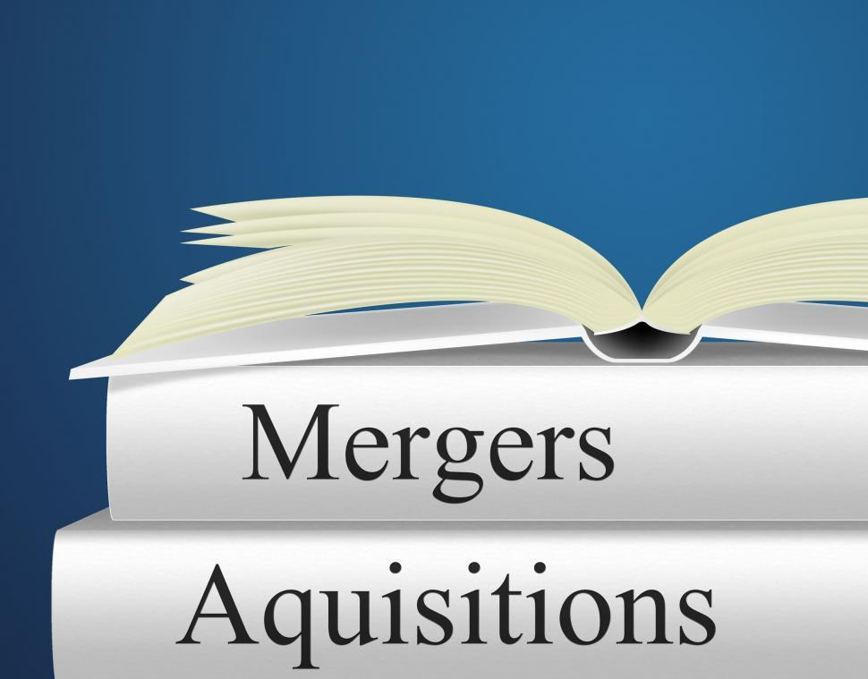 Download Free Stock Photo of Aquisitions Mergers Represents Link Up And Alliance