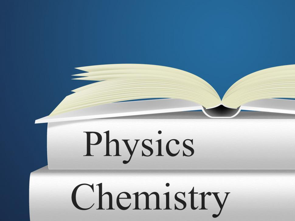 Download Free Stock HD Photo of Chemistry Physics Means Non-Fiction Science And Chemicals Online