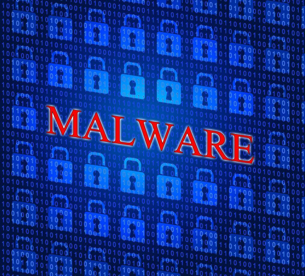 Download Free Stock Photo of Malware Internet Represents World Wide Web And Www