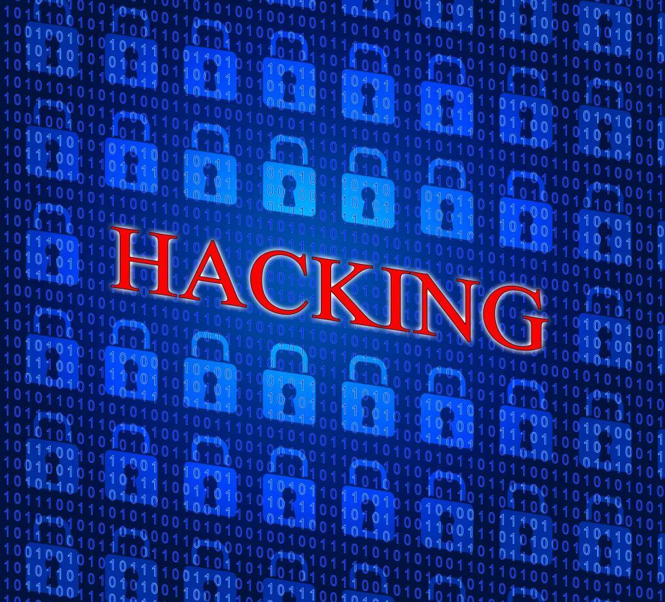 Download Free Stock HD Photo of Online Hacking Indicates World Wide Web And Internet Online