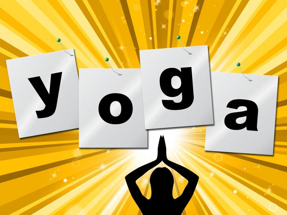 Download Free Stock HD Photo of Yoga Pose Shows Meditate Zen And Posture Online