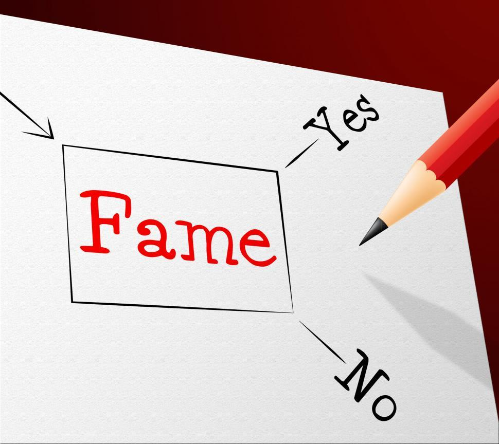 Download Free Stock HD Photo of Choice Fame Represents Far Famed And Confusion Online