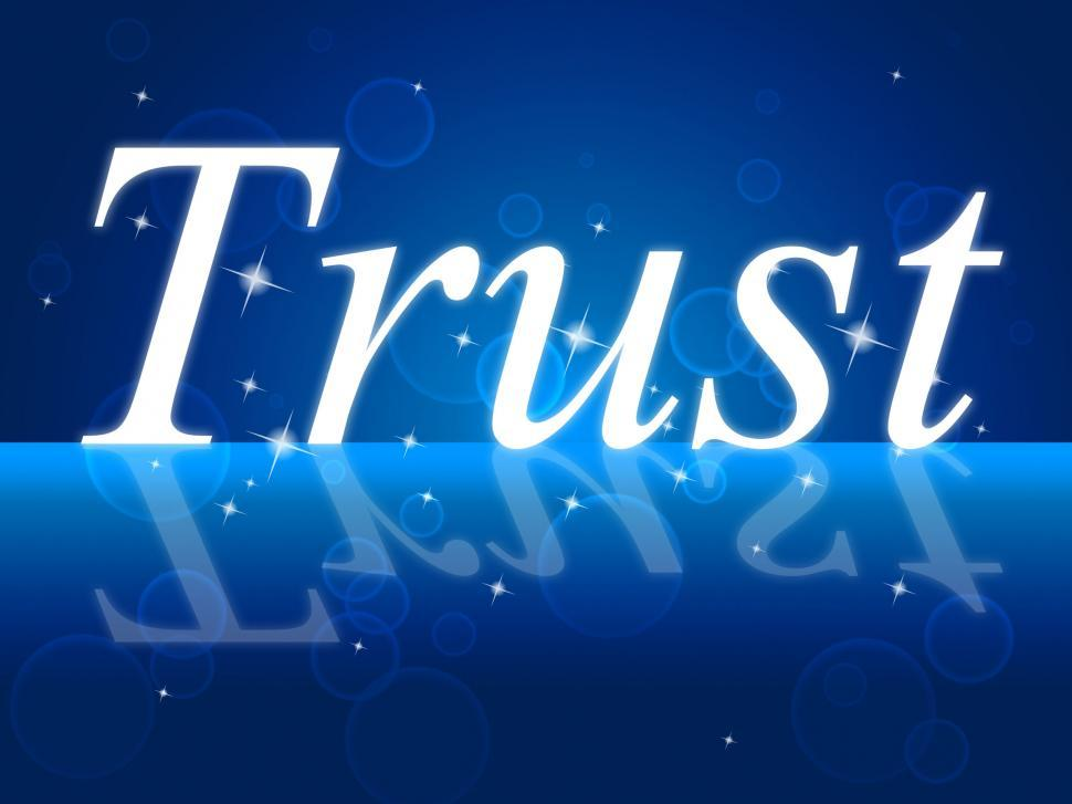 Download Free Stock HD Photo of Trust Faith Indicates Believe In And Trusted Online