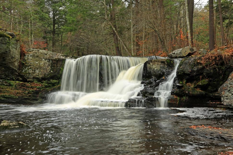 Download Free Stock Photo of Factory Falls at George W. Childs Recreation Site. Dingmans Ferr