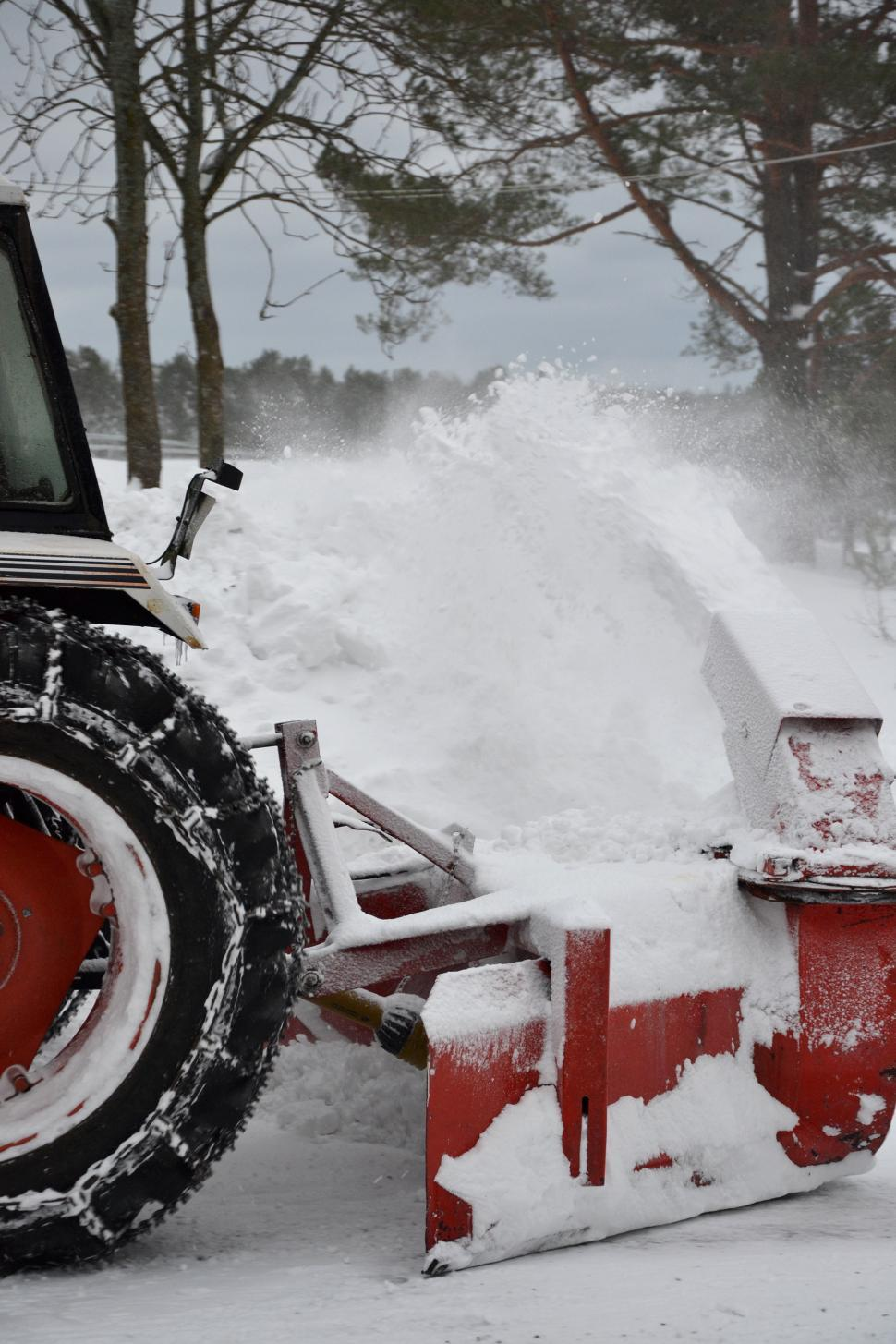 Download Free Stock HD Photo of Snow clearance machine Online