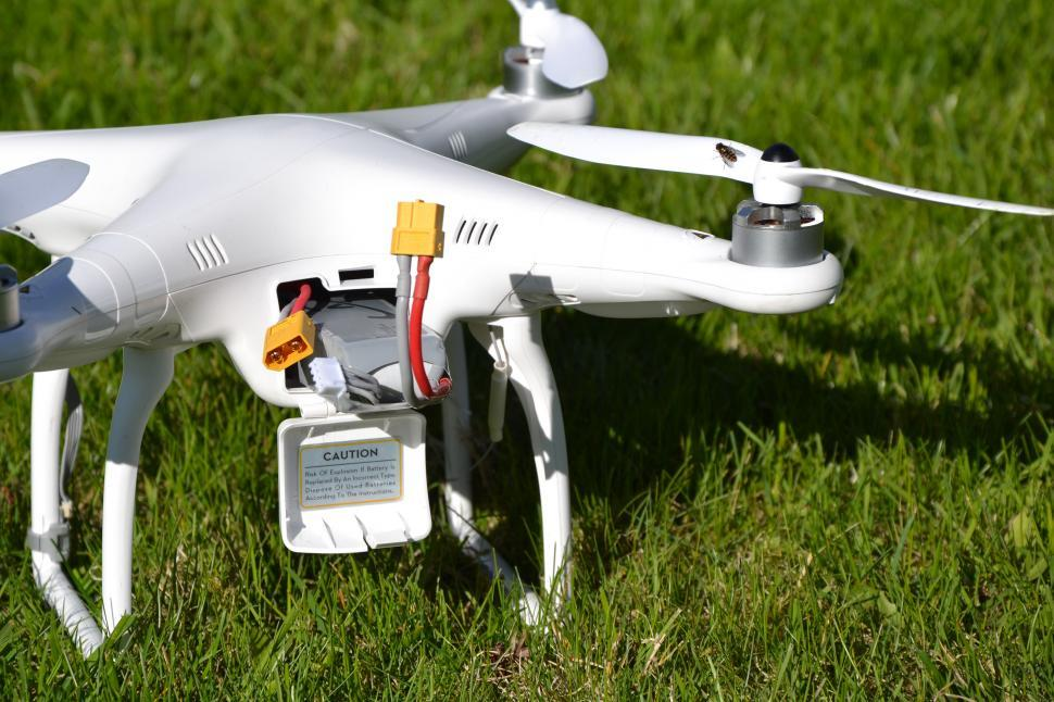 Download Free Stock Photo of Drone with battery