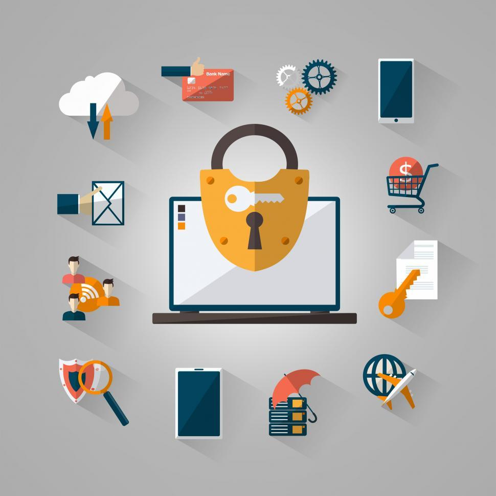 Download Free Stock HD Photo of Being Secure On-line Online