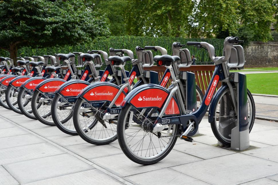 Download Free Stock Photo of Public cycles