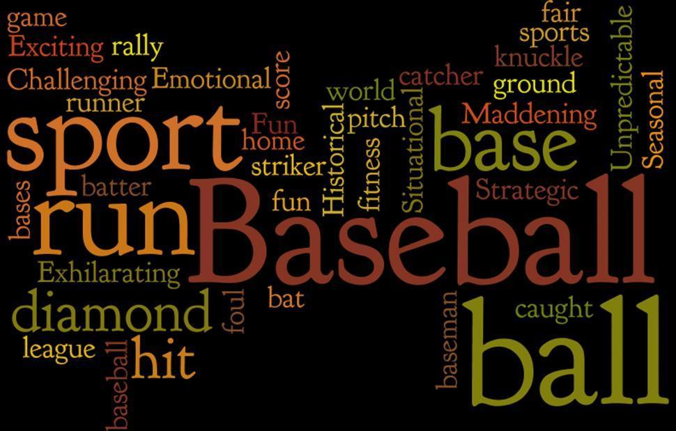 Download Free Stock Photo of Baseball
