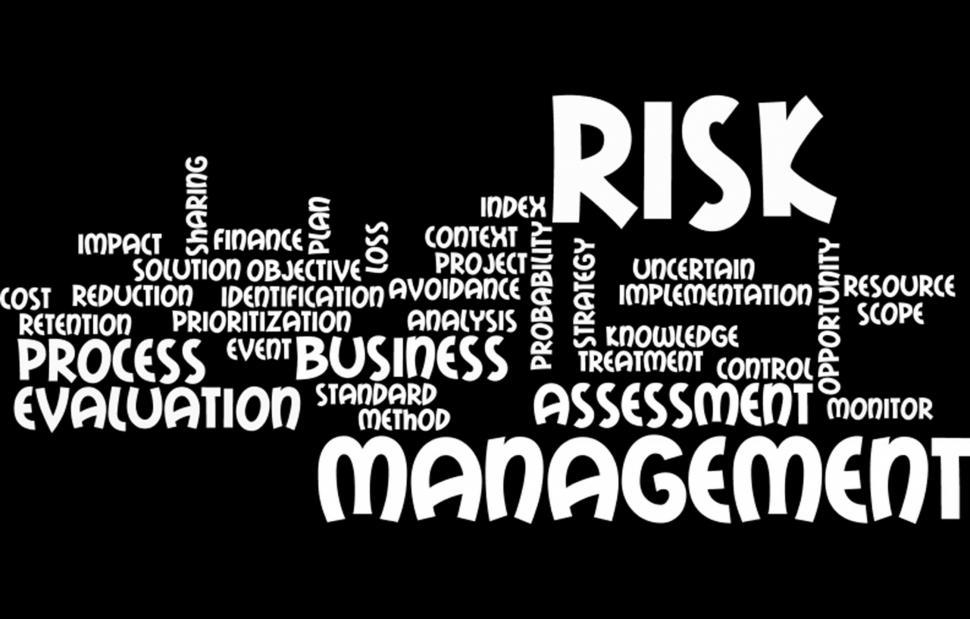 Download Free Stock Photo of Risk management wordcloud
