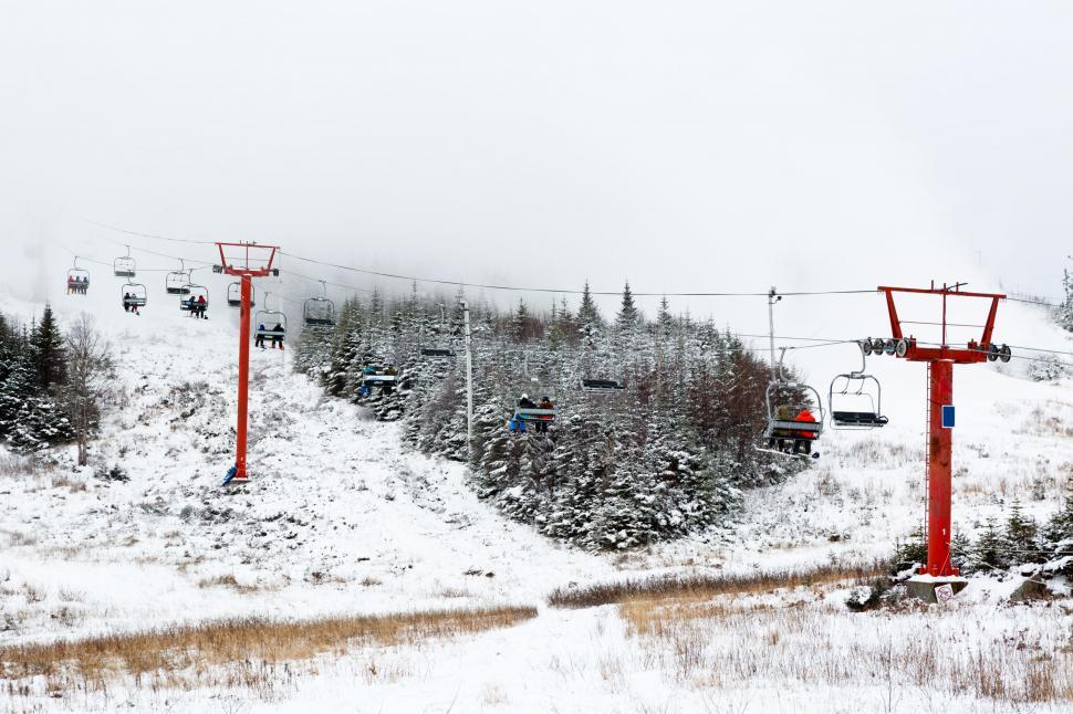 Download Free Stock HD Photo of Ski lift Online