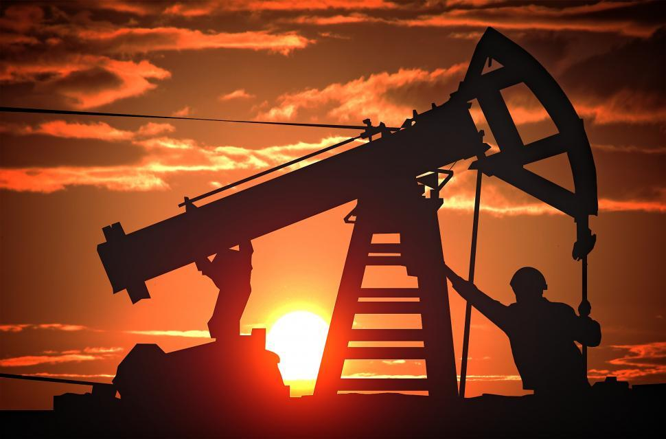 Download Free Stock HD Photo of Oil Pump Jack - The Great Oil Glut Online