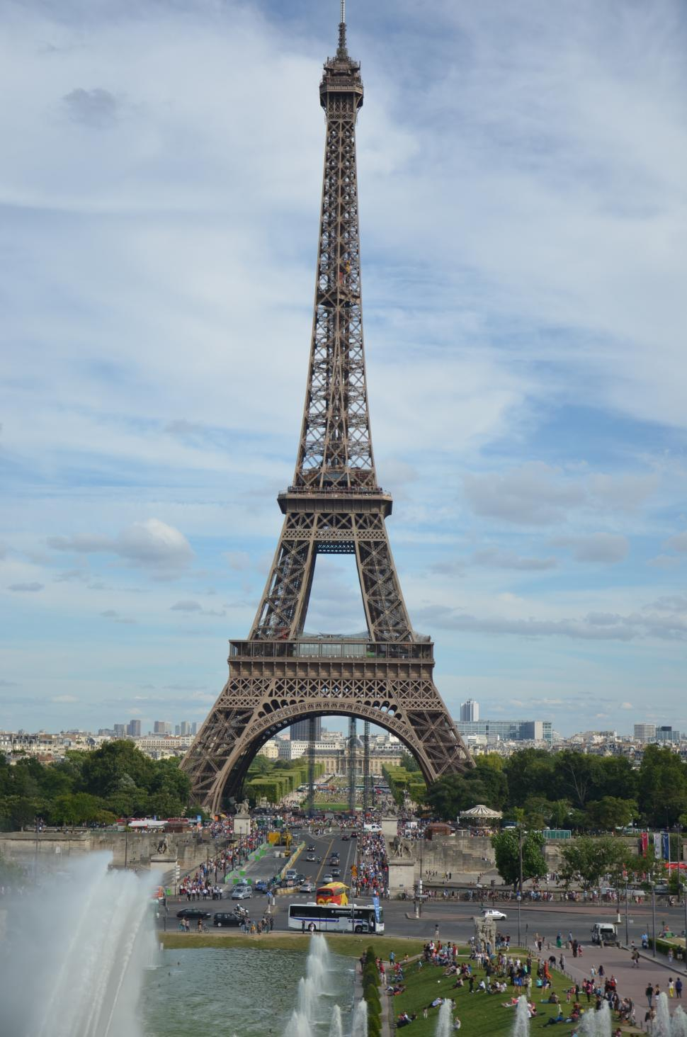 Download Free Stock Photo of Eiffel tower, Paris, France, Europe