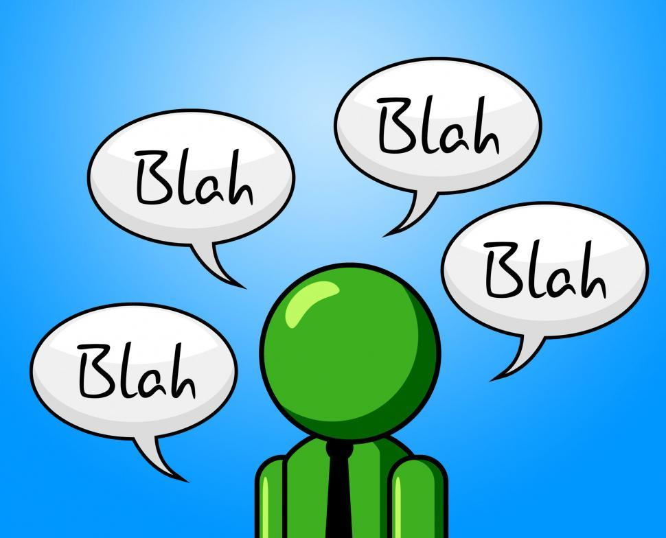 Download Free Stock Photo of Blah Conversation Shows Chat Conference And Gossip
